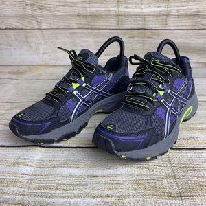 Asics Gel Venture 4 Purple Athletic Running Shoes